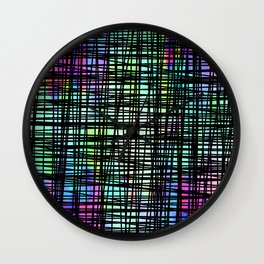 Colorful striped DP035-1 Wall Clock