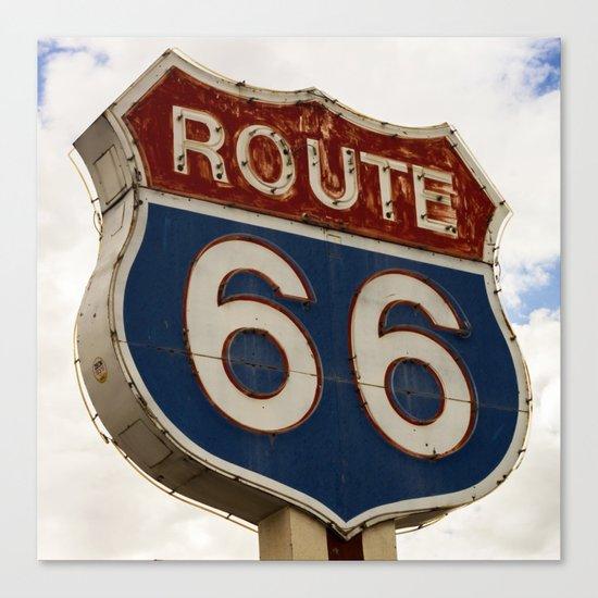 U.S. Route 66  Canvas Print