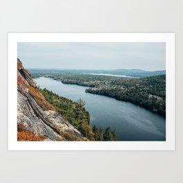 Echo Lake Art Print