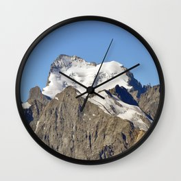 The Queen Of The Southern Alps Wall Clock
