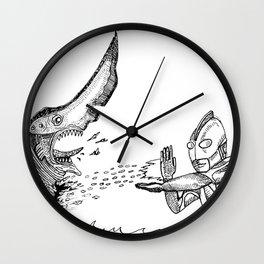 Ultraman v.s. Knifehead Wall Clock