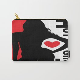Hot Girl Carry-All Pouch