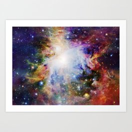 Rainbow Orion NEBulA Art Print