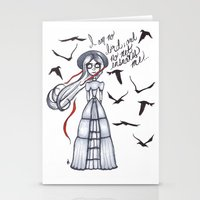 jane eyre Stationery Cards featuring Jane Eyre by Natalie Easton