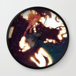 Anakin and Padme Wall Clock