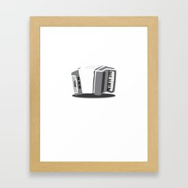 Accordion Musical Instrument Framed Art Print