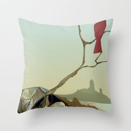 CARDINAL LOOMS Throw Pillow