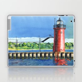 South Haven Lighthouse Laptop & iPad Skin