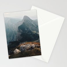 Morning on the edge Stationery Cards