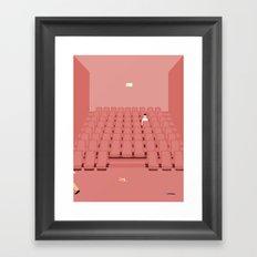 GÅ I BIOGRAFEN Framed Art Print