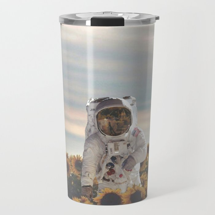 The Sunflower Galaxy, Messier 63 Travel Mug