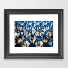 Geometric Glass  Framed Art Print