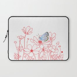 Cosmos and Butterfly Laptop Sleeve