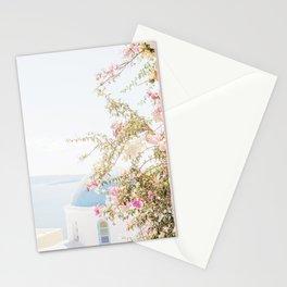 Pretty Oia Santorini Stationery Cards