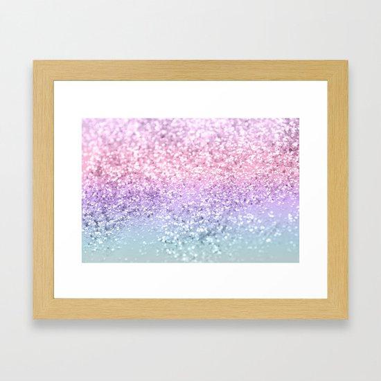 Unicorn Girls Glitter #1 #shiny #pastel #decor #art #society6 by anitabellajantz