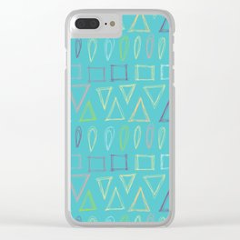 Going to the Beach Clear iPhone Case