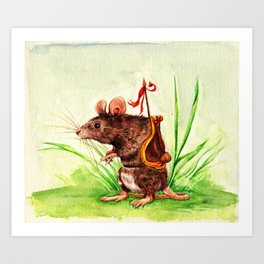 The Rodent Guard Art Print