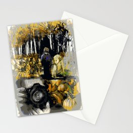The Black and White Reproduction Stationery Cards