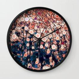Daily Meditation Wall Clock