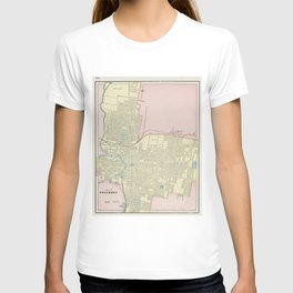 Vintage Map of Columbus Ohio (1901) T-shirt