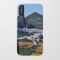 spanish iPhone & iPod Cases featuring Spanish Summer by Tamsin Lucie