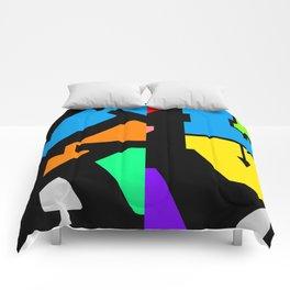 Fuck/Love Comforters