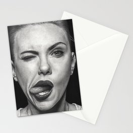 Scarlett Johansson Stationery Cards