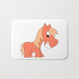 HERBIE HORSE - PEACH Bath Mat