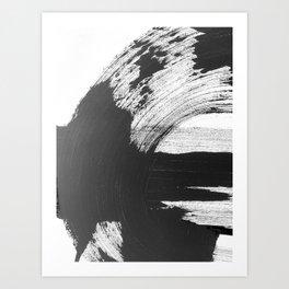 Black and White Gallery Wall Art Art Print