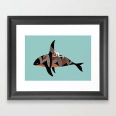 Orcinus Rider Framed Art Print