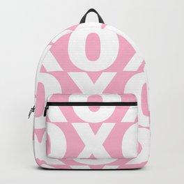 XOXO - Light Pink Pattern Backpack