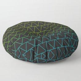 Neon Lights Floor Pillow