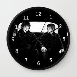 Very Odd Morning Wall Clock