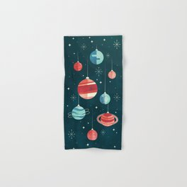Joy to the Universe (in Teal) Hand & Bath Towel