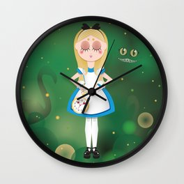 Mini Me Stars: Alice in Wonderland Wall Clock