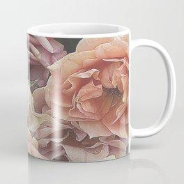 Great Garden Roses,peach Coffee Mug