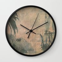 holiday Wall Clocks featuring Holiday by Last Call
