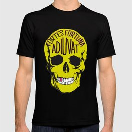 Fortune Favours The Brave. T-shirt