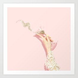 Glittertini Art Print