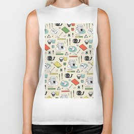 Coffee, journals and peace of mind. Biker Tank