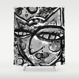 Wiggle Snickle Doodley Doo 1a by Kathy Morton Stanion Shower Curtain