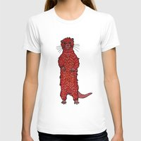 otter T-shirts featuring Otter by Michalacaney