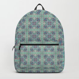Butterfly Semi-Plaid Backpack