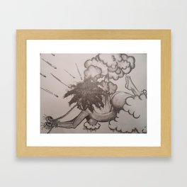 The Struggle Framed Art Print