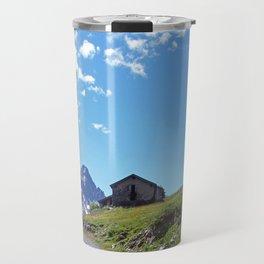 Aosta Valley Alps Travel Mug