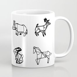 Origami Animal Set Coffee Mug