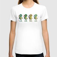 ninja turtles T-shirts featuring Teenage Mutant Ninja Turtles by Glimy