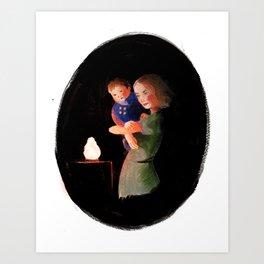 Magic lamp Art Print