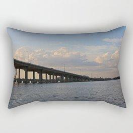 Under the Caloosahatchee Bridge Rectangular Pillow