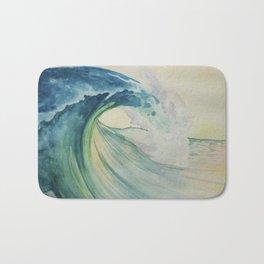Incoming Energy Wave Bath Mat
